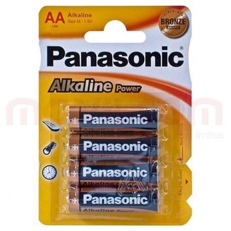 Pila AA-R6 Panasonic Alkalina 48U