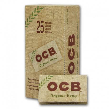 Papel OCB Orgánico N4 Doble 25U