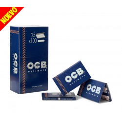 Papel OCB Ultimate Doble 25U