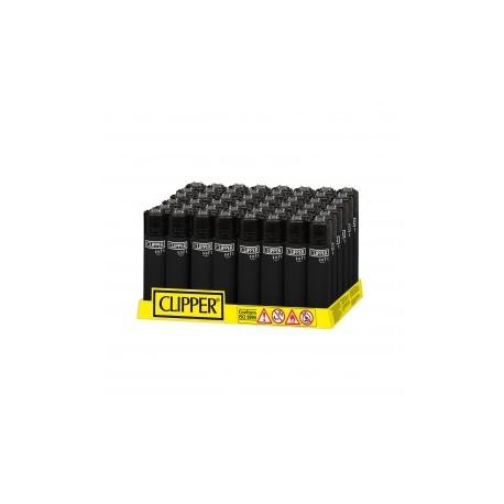 Encendedores Clipper Goma Negro 48U