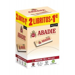 Papel Abadie Medium 78mm Expositor de 200u.
