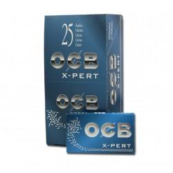 Papel OCB azul N4 Doble 25U