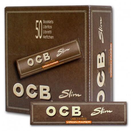 Papel OCB Virgin Slim 50U