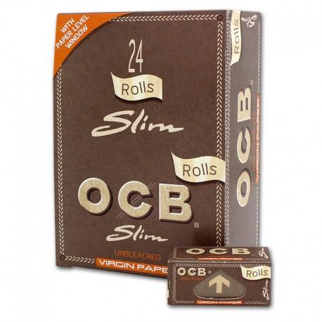 Papel OCB Rollo Virgin 24U