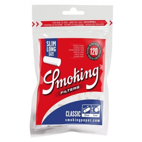 Filtros Smoking Largos 6mm Slim